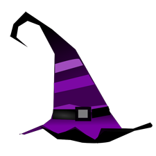 striped-witch-hat
