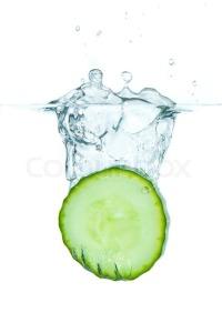 2855375-sliced-cucumber-splashing-water-isolated-on-white-background